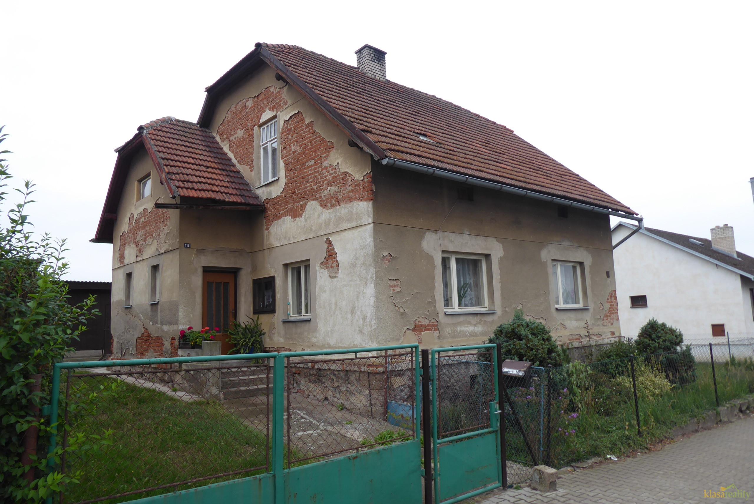 Rodinný dům v Mnichově Hradišti-Veselá.
