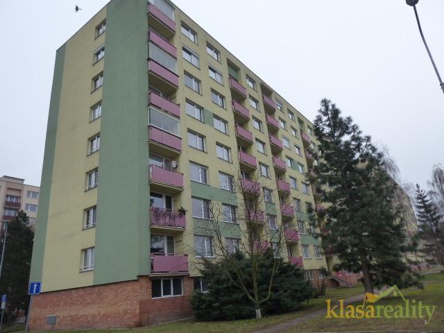 Byt 2+1 v Mladé Boleslavi před rekonstrukcí.