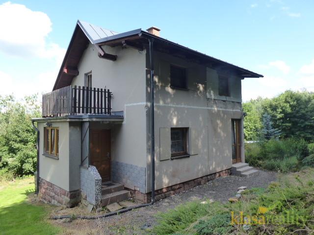 RD/chalupa v Košťálově s výbornou dostupností do Krkonoš.